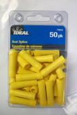 #12 - #10 Yellow Butt Splice Ideal 770319, 50pk, Lot of 1