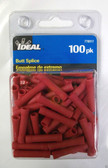 #22 - #16 Red Butt Splice Ideal 770317, 100pk, Lot of 2
