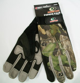 Mossy Oak Padded Palm Glove, Large OR XL, 12 Pairs, Free Shipping