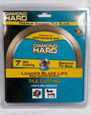 "7"" Diamond Hard Tile Blade Continuous Rim Circular Saw Blade"