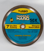 "7"" Diamond Masonry Blade Turbo Circular Saw Blade"