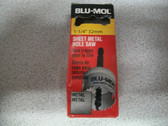 "1-1/4"" 32mm Sheet Metal Hole Saw Blu-Mol"