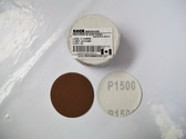 "2"" PSA Mini Sanding Discs A/O, No Hole Keen 1,500 Grit - Lot of 250 - Free Shipping"