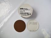 "2"" PSA Mini Sanding Discs A/O, No Hole Keen 1,500 Grit - Lot of 50 - Free Shipping"