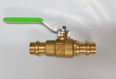 "1/2"" Pro Press Ball Valve, Brass Body, Lead Free, Lot of 2 Valves, FREE SHIPPING"