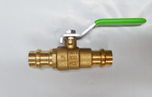 "1/2"" Pro Press Ball Valve, Brass Body, Lead Free, Lot of 10 Valves, FREE SHIPPING"