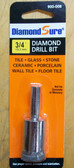 "3/4"" Diamond Hole Saw For Tile DiamondSure"