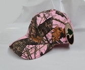 Pink Mossy Oak Breakup Camo Baseball Hat, Lot of 5 - FREE SHIPPING