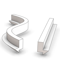 Rectangular Concrete Beam with Chamfer one side