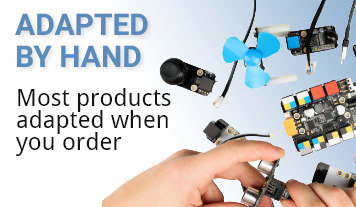 Most products are adapted to fit your needs after purchase