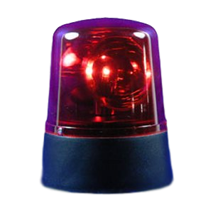 Switch Adapted Red Police Light
