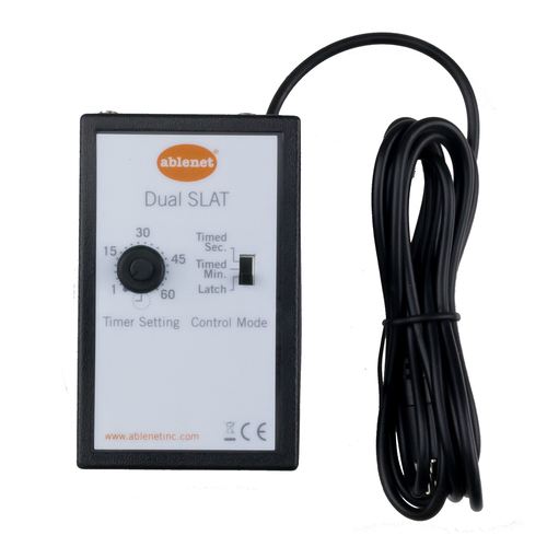 Ablenet Dual Switch Latch Timer for individuals with disabilities.