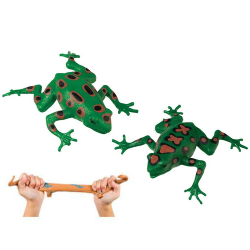 Squishimals Frog bead filled durable rubber sensory toy is perfect for ASD, autism and sensory awareness.