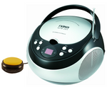 Switch adapted CD player with AM/FM Radio