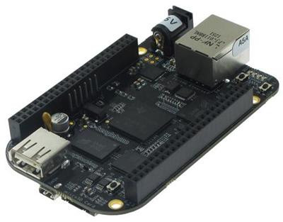 Top View - BeagleBone Black Rev C by CircuitCo