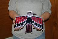 Vintage Pontiac Firebird Emblem / Metal Art Sign (Small 12x9)