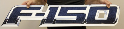 Ford F150 Metal Sign