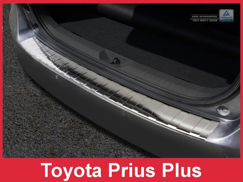 2013 2014 2015 Toyota Prius - Stainless Steel Rear Bumper Protector Guard