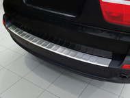 2007 - 2013 BMW X5 E70 - Stainless Steel Rear Bumper Protector
