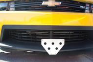 2012-2015 Chevrolet Camaro ZL1 - Quick Release Front License Plate Bracket STO N SHO