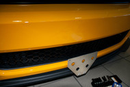 2013 Ford Mustang Boss 302/ 2013-2014 California Special - Removable Front License Plate Bracket STO N SHO