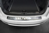 2014+ BMW X6 F16 - Stainless Steel Rear Bumper Protector