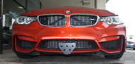 2015 2016 2017 2018 BMW M4 (alternate bottom mount option)- Quick Release Front License Plate Bracket