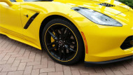 Gloss Yellow Rimstripes by Tapeworks - C7 Velocity Yellow