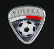 Poland Polska Soccer Badge