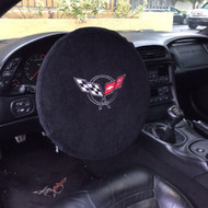Corvette C5 Steering Wheel Cover by Seat Armour