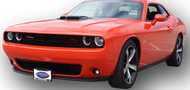 2015-2019 Dodge Challenger WITHOUT Adaptive Cruise Control - Quick Release Front License Plate Bracket