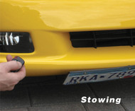 Universal  Powered Retractable Show N Go Front License Plate Bracket 400eu