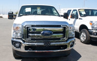 2014 Ford F250/F350 Super Duty - Removable Front License Plate Bracket STO N SHO