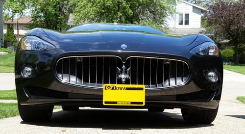 2009-2011 Maserati Gran Turismo - Removable License Plate Bracket STO N SHO