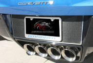 2014-2017 C7 Corvette Stingray - Tag Back Carbon/Fiberglass With Stainless Steel Trim by ACC