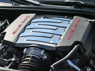 2014-2017 C7 Corvette Stingray - 9pc Polished and Brushed Plenum Cover by ACC