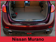 2009-2014 Nissan Murano Stainless Steel Bumper Protector Guard Black