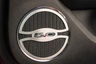 "2015-2017 Mustang GT - ""5.0"" Lower Door Speaker Trim by ACC"