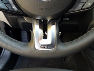 2015-2017 Mustang GT Steering Wheel Vinyl Decal - Black