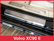 2016 - 2018 Volvo XC90- Stainless Steel Door Sill Guards - 4 Piece Set