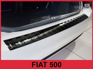 2016-2017 Fiat 500 - Stainless Steel Rear Bumper Protector Guard