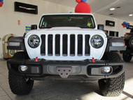2018 Jeep Wrangler JL with Metal Bumper - Quick Release Front License Plate Bracket