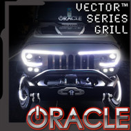 ORACLE LIGHTING VECTOR™ SERIES FULL LED GRILL- JEEP WRANGLER JK (5817-504)