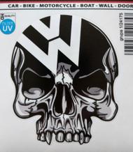 VW Skull Decal (1/24175)