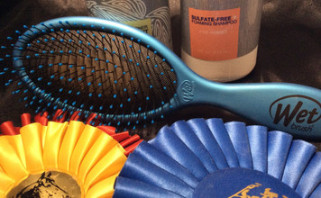 The only brush we trust for the mane and tail.