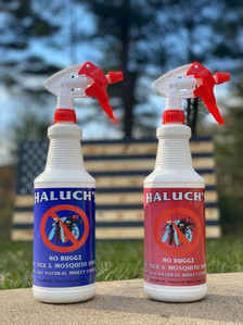 Use our All Natural Bug Spray for flies, mosquitoes, fleas, ticks,chiggers, no-see-ums, mites, spiders, moths, lice, ants and numerous other non-benefical insects. Our Bug Spray insect control will not harm beneficial sight driven insects, bees, birds, fish or amphibiens. This product is safe on pets & children. Our Spray is also DEET FREE & CHEMICAL FREE. Our product is also FEI safe for the horses!