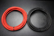 6 GAUGE AWG WIRE 25 FT BLACK 25FT RED CABLE STRANDED PRIMARY BATTERY POWER IB6