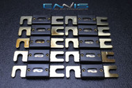 10 PACK 200 AMP ANL FUSE FUSES GOLD PLATED INLINE WAFER HIGH QUALITY HOLDER