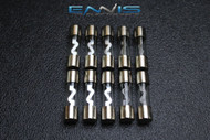 10 PACK 25 AMP AGU FUSE FUSES GOLD PLATED INLINE HIGH QUALITY GLASS NEW AGU25