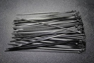 100 PK 11 INCH ZIP TIES NYLON BLACK 40 LBS UV WEATHER RESISTANT WIRE CABLE BCT11